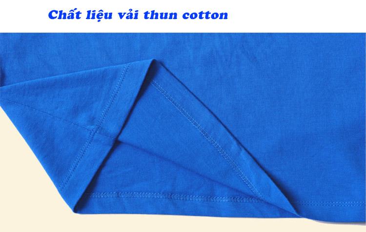 Chất liệu vải thun cotton